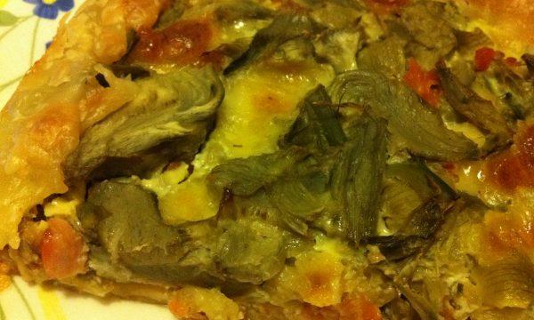 Torta Salata Carciofi e Salmone
