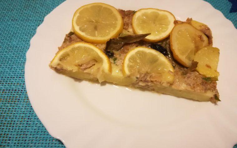 Sformato di patate ai limoni