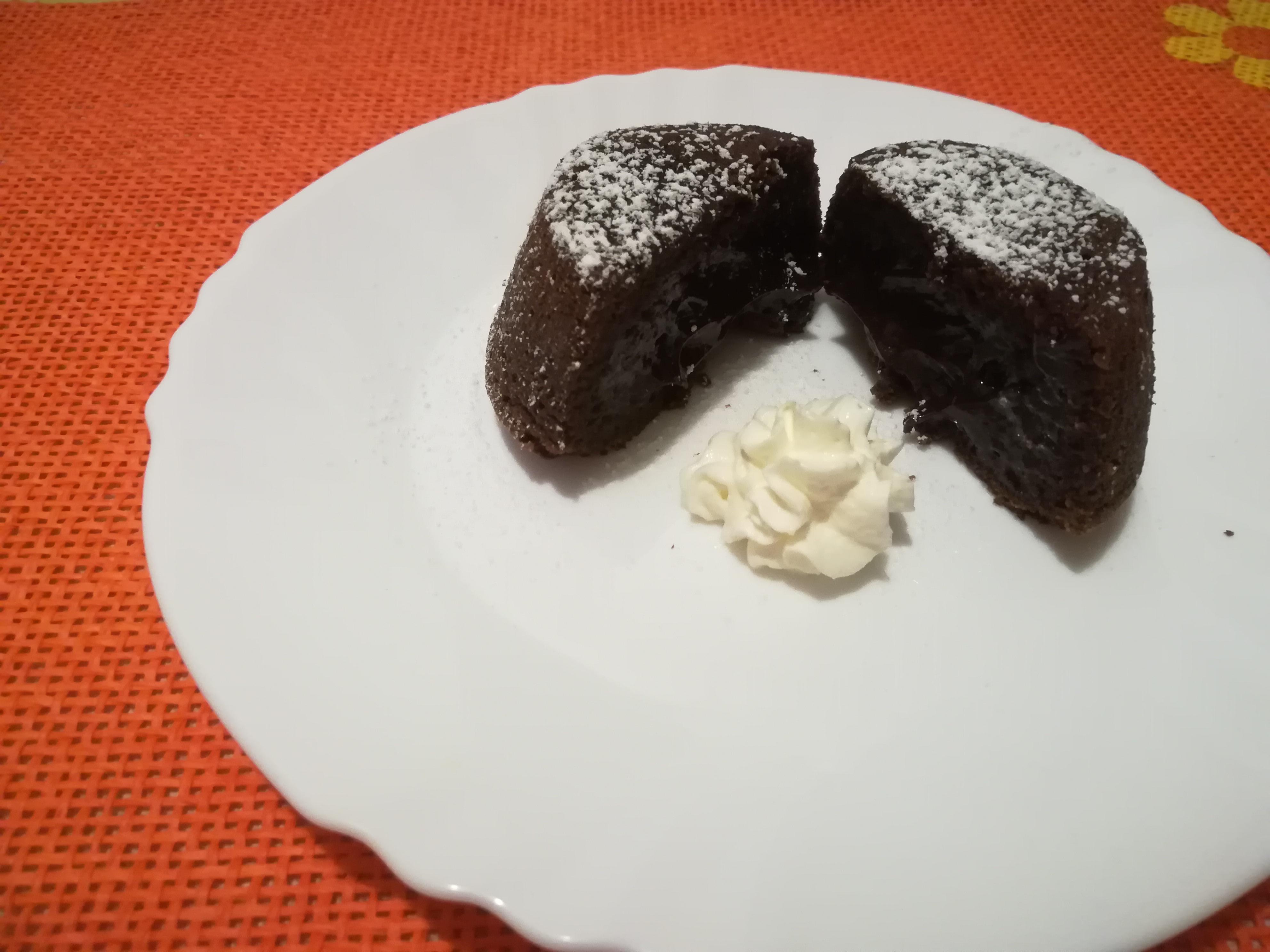 Tortini al cioccolato col cuore fondente
