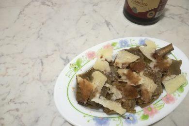 Cuori di carciofo all'aceto balsamico