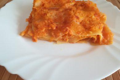 Lasagne di zucca e mortadella