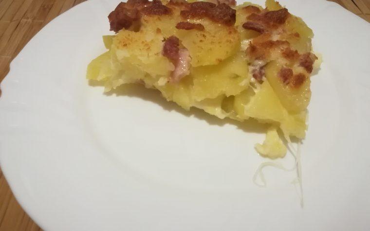 Tortino filante di patate