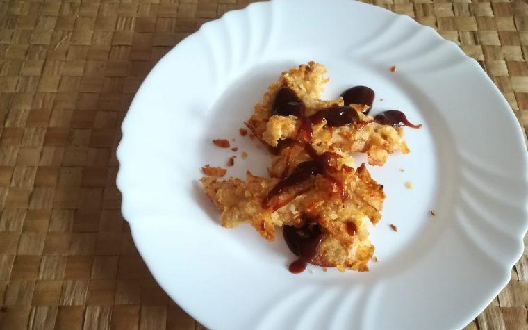 Bocconcini di pollo alle patatine
