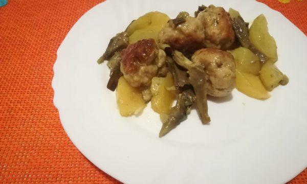Polpettine con Carciofi e Patate