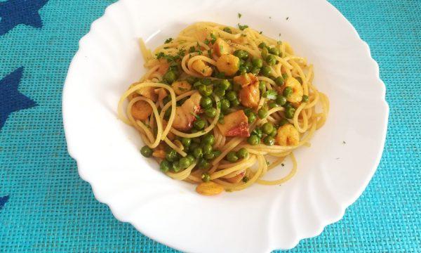 Spaghetti speziati col pesce
