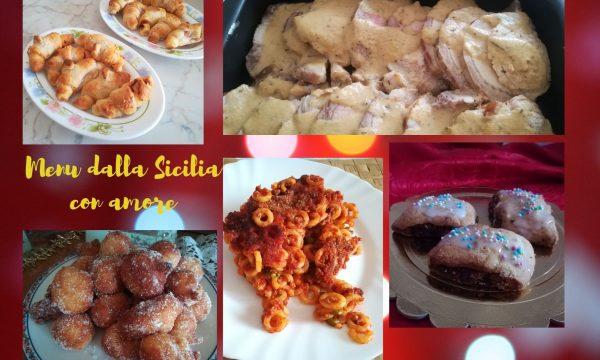 Menu di Natale dalla Sicilia con amore