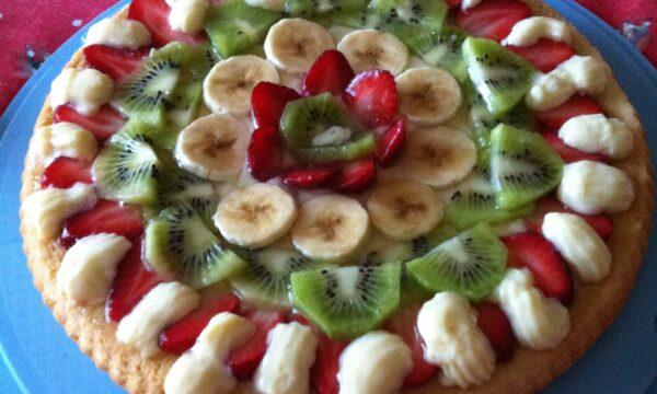 Crostata alla frutta con guscio morbido