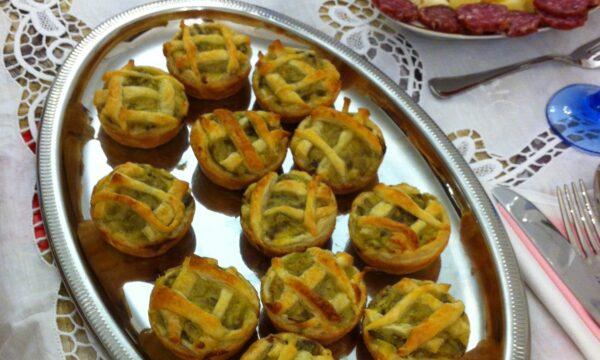 Crostatine di carciofi