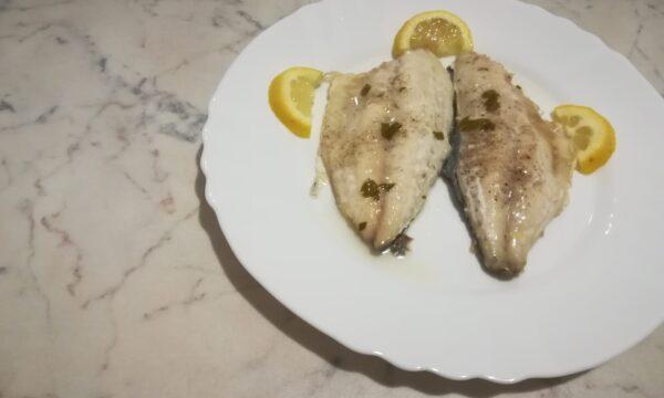Orate in salsa bianca al limone