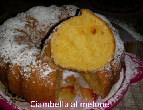 Ciambella al melone No burro,no olio,no uova.