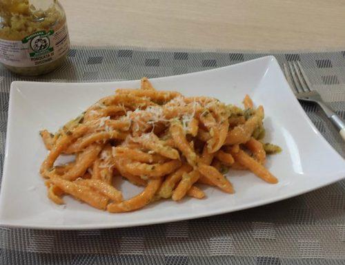 Fileja con rosolata di zucchine