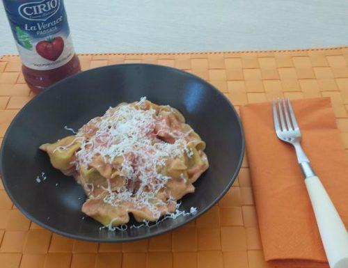 Tortelli pomodoro e mascarpone