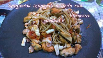Spaghetti alla Veronica