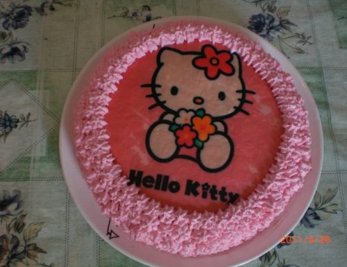 Torta hello kitty
