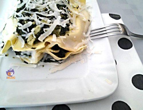 Lasagne spinaci e stracchino