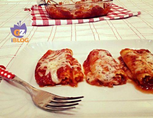 Cannelloni alla pizzaiola