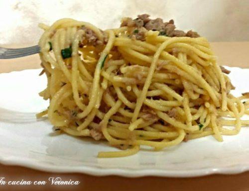 Spaghetti lampo