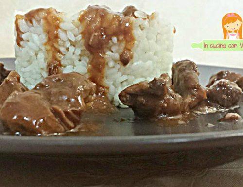 Sformatini di riso e Goulash