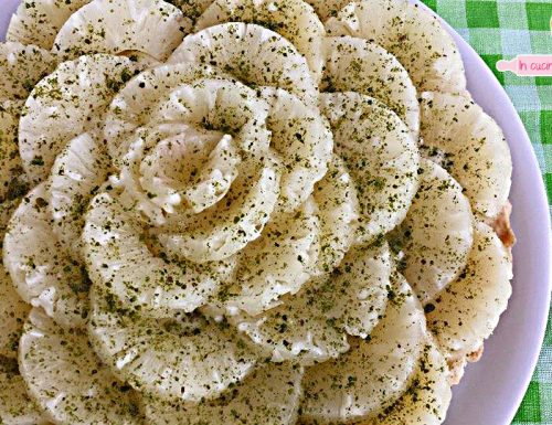 Crostata crema e ananas