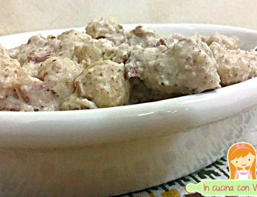 Gnochetti di patate con salsa di noci