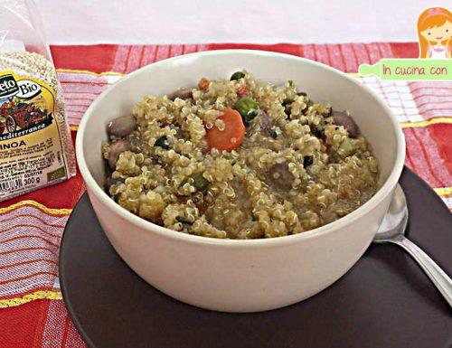 Minestrone  con quinoa