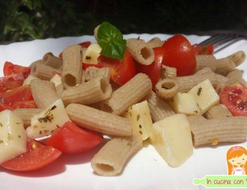 Rigatoni amaranto e konjac