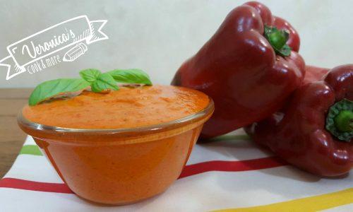Crema di peperoni e pesto