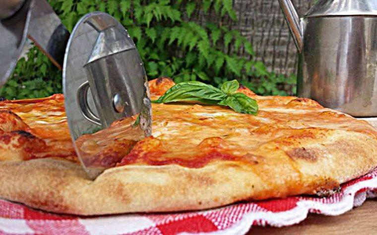 Pizza con un solo gr di lievito