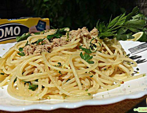 Spaghetti Tonno e limone