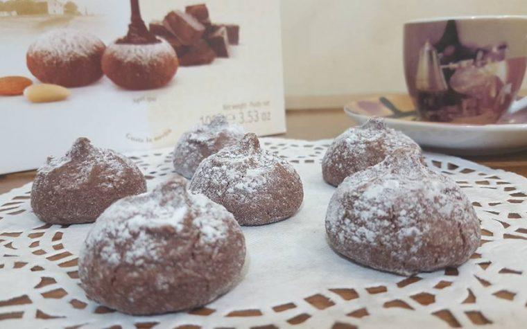 Saporelli con cuore al cioccolato