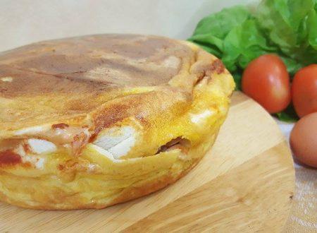 Torta sandwich con pentola ollas Gm