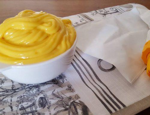 Crema pasticcera senza uova e con latte di riso!