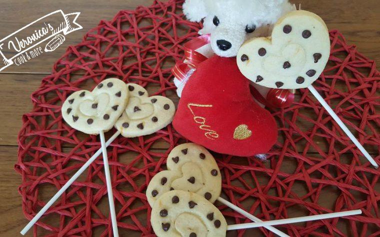 Biscotti in stecco per San Valentino