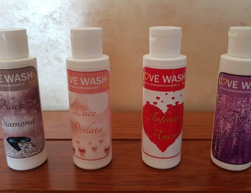Essenze per bucato Love Wash