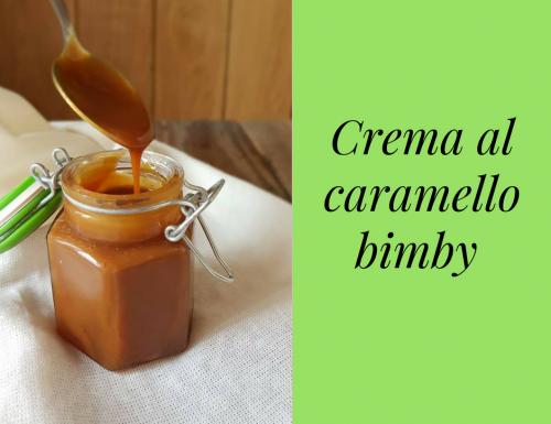 CREMA AL CARAMELLO BIMBY