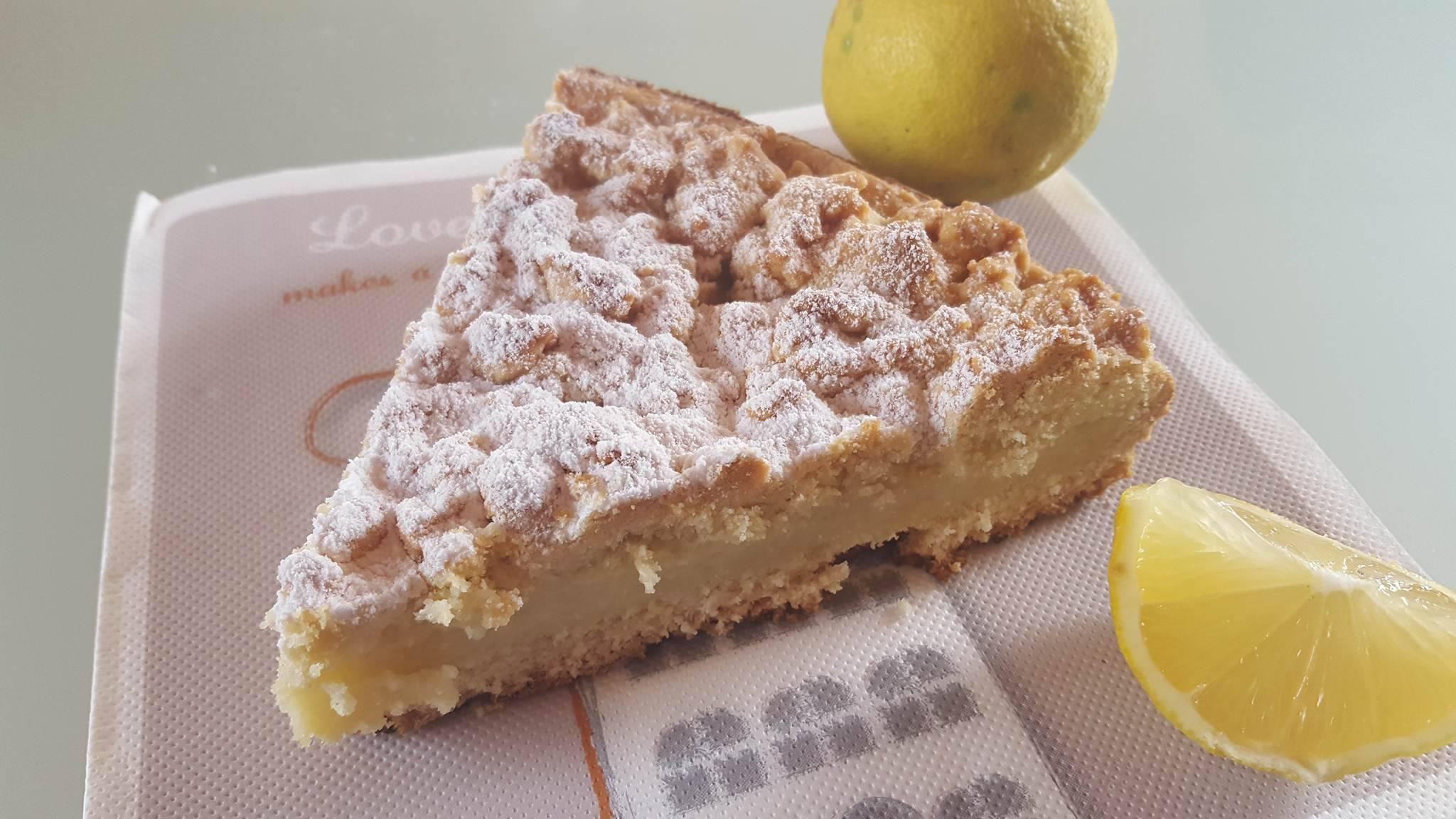 Crostata Sbriciolata Bimby Al Limone Deliziosa