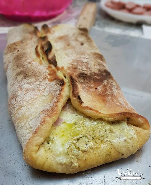 CANNOLO DI PIZZA AL PISTACCHIO BIMBY