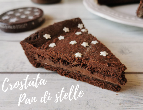 CROSTATA PAN DI STELLE RICETTA BIMBY