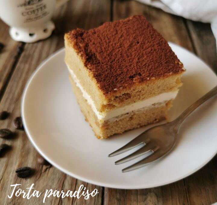 TORTA PARADISO AL CAFFE' RICETTA BIMBY