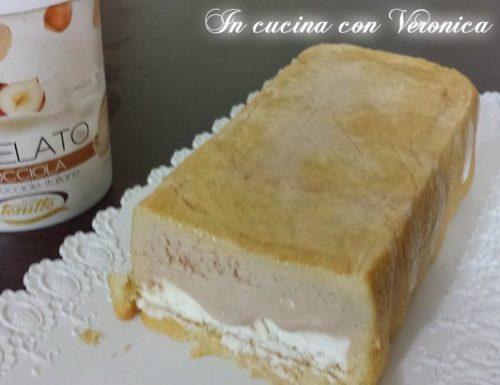 TORTA GELATO ALLA PANNA RICETTA VELOCE