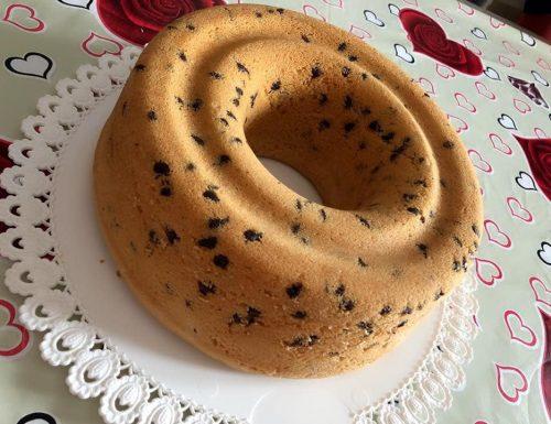 TORTA CHIFFON CAKE RICETTA BIMBY