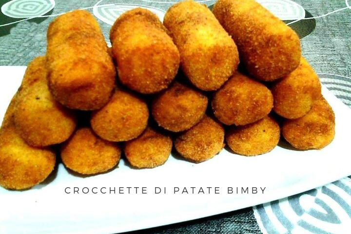 CROCCHETTE DI PATATE RICETTA BIMBY