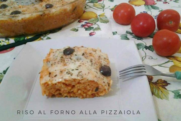 RISO AL FORNO ALLA PIZZAIOLA RICETTA BIMBY
