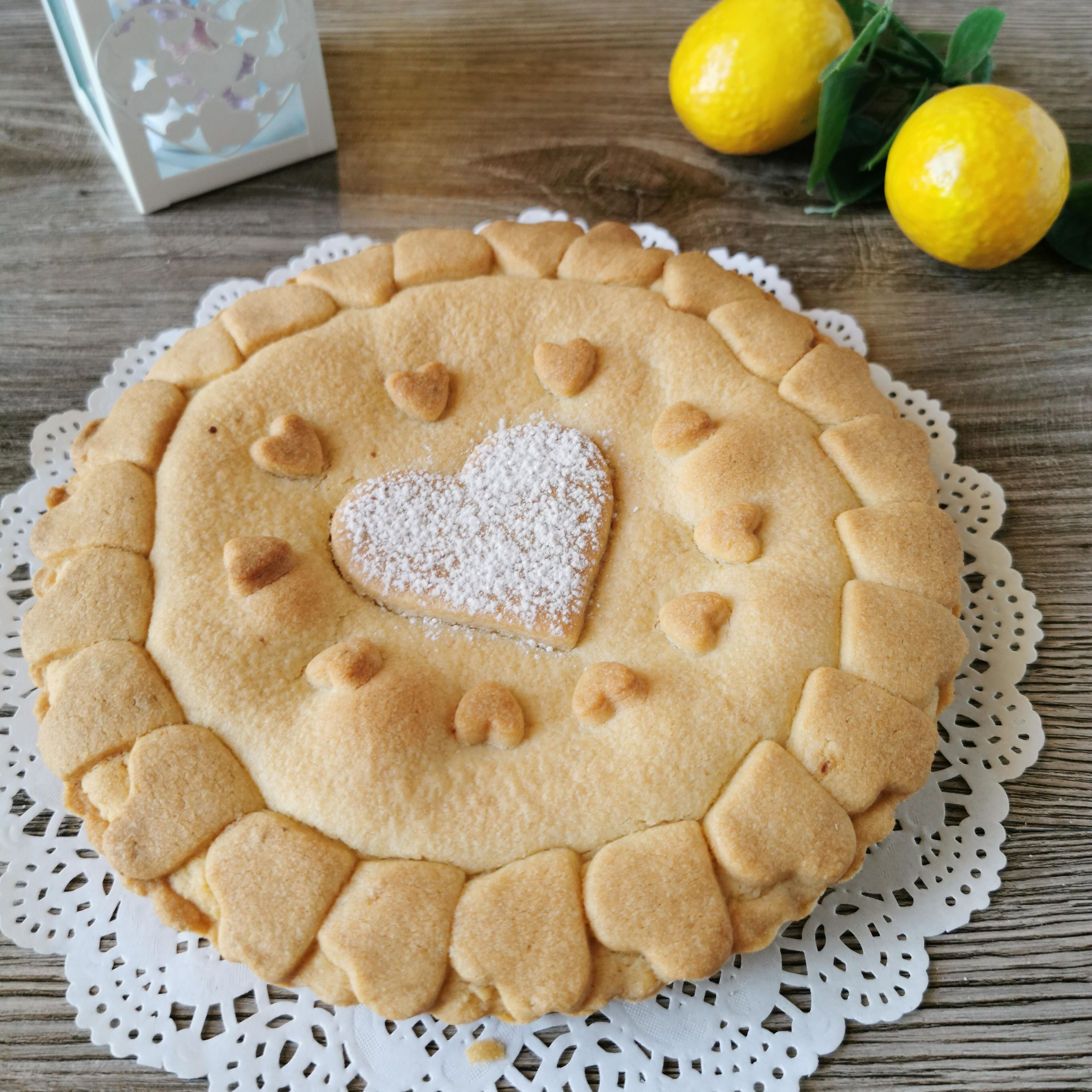 TORTA ALLA CREMA DI LIMONE RICETTA BIMBY