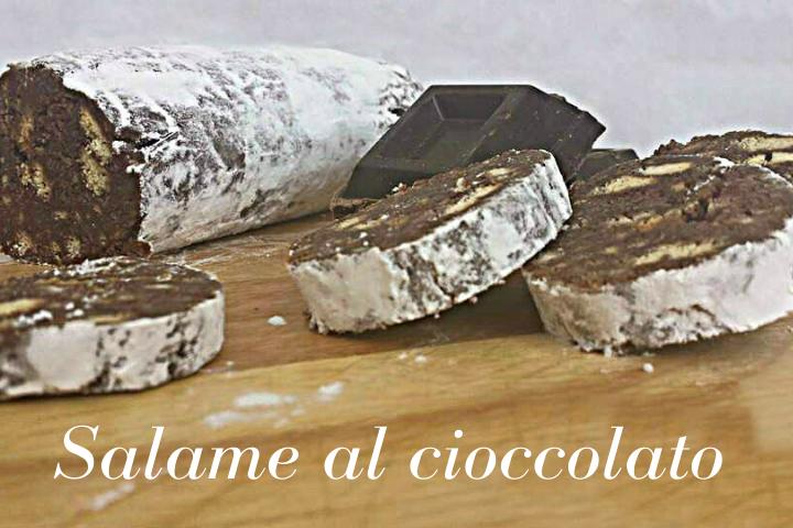 SALAME AL CIOCCOLATO SENZA UOVA RICETTA BIMBY