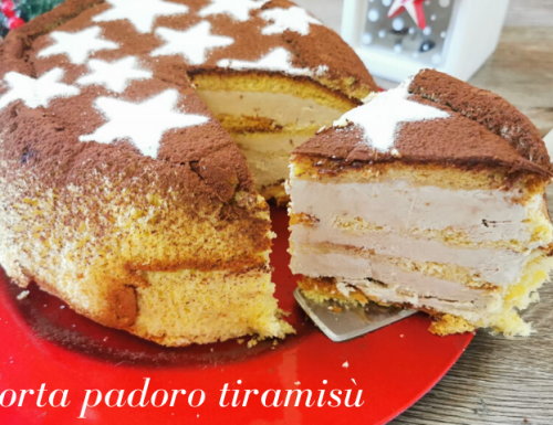 TORTA PANDORO TIRAMISU' RICETTA BIMBY