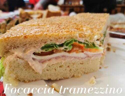FOCACCIA TRAMEZZINO RICETTA BIMBY