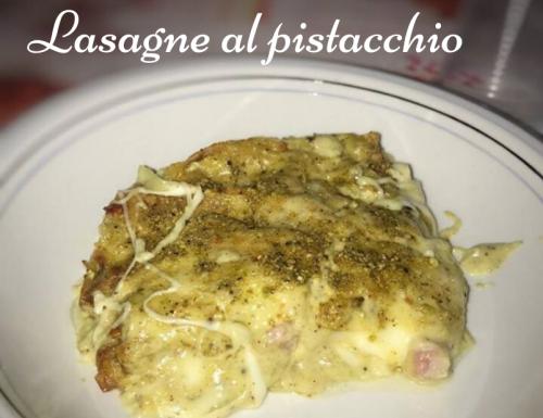 LASAGNE AL PISTACCHIO PRIMO PIATTO