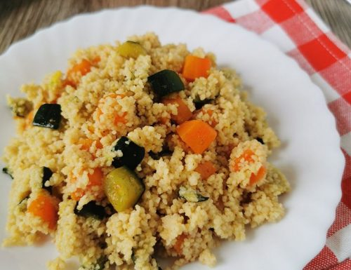 COUS COUS ZUCCHINE E CAROTE