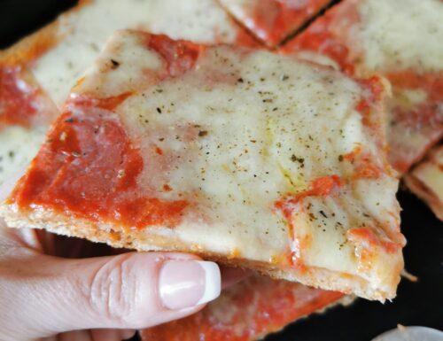 PIZZA IN TEGLIA INTEGRALE CON MAMBO